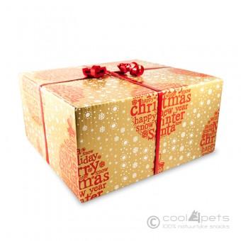 Grote geschenkdoos Gold om zelf te vullen