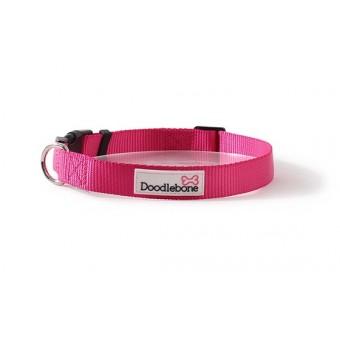 Doodlebone Bold Hondenhalsband Neon roze