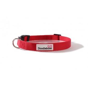 Doodlebone Bold Hondenhalsband Rood