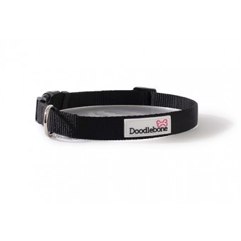 Doodlebone Bold Hondenhalsband Zwart