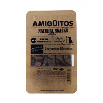 Amiguitos Dogsnack Vis (kip & varken)