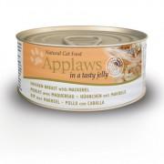 Applaws Cat Blikvoer Jelly, kip & makreel