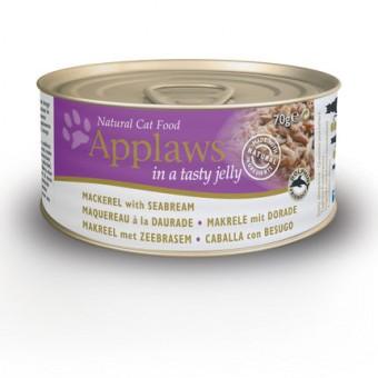 Applaws Cat Blikvoer Jelly, makreel & zeebrasem