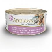 Applaws Cat Blikvoer Bouillon, makreel & sardine