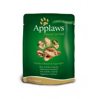 Applaws Cat Quick Serve Bouillon, kip & asperges