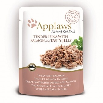 Applaws Cat Quick Serve Jelly, hele tonijn & zalm