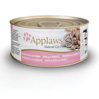 Applaws Cat Blikvoer Bouillon, tonijnfilet & garnaal