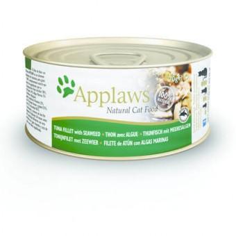 Applaws Cat Blikvoer Bouillon, tonijnfilet & zeewier