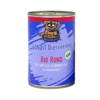 Bandit Hond Blikvoer Bio Rund