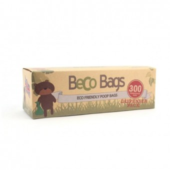 BecoBags poepzakjes 300 Dispenser (single roll)