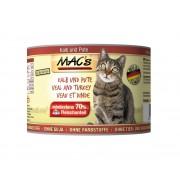 Mac's Blikvoer kalf & kalkoen (kat)