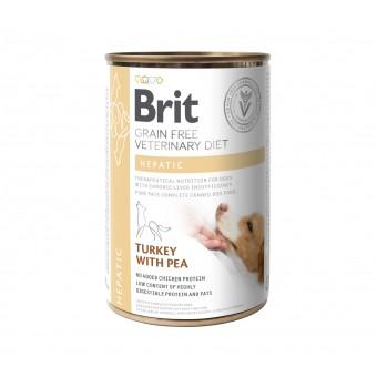 Brit Veterinary Diet Can Hepatic (Lever)