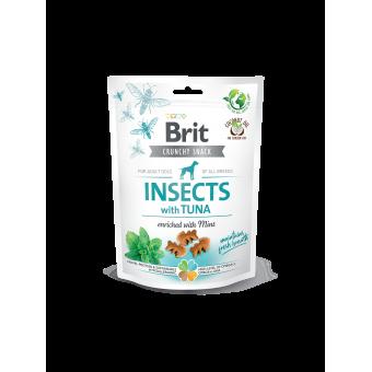 Brit Crunchy Snack Insect & Tonijn
