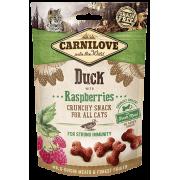 Carnilove Kat Crunchy Snack Eend met frambozen