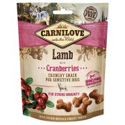 Carnilove Hond Crunchy Snack Lam met Cranberries