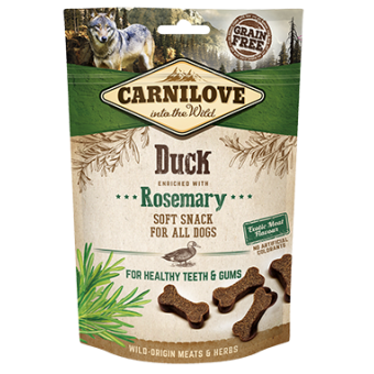 Carnilove Hond Soft Snack Eend met Rozemarijn