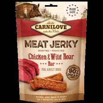 Carnilove Jerky Kip & Wild Zwijn Bar