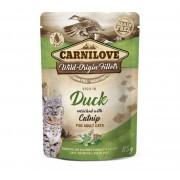 Carnilove Kat Pouch Kip & Eend met Catnip