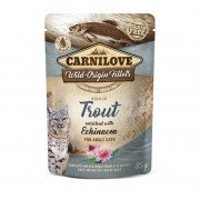 Carnilove Kat Pouch Kip & Forel met Echinacea