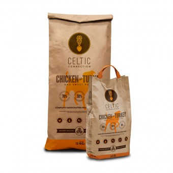 Celtic Connection Dog Chicken with Turkey