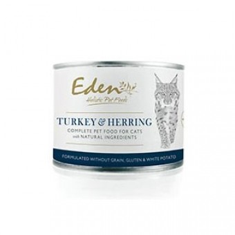 Eden Cat Wet Food Turkey & Herring (kalkoen & haring)