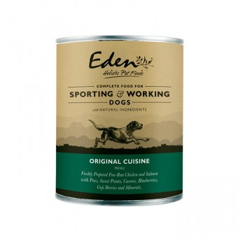 Eden Dog Wet Original Cuisine (for sporting & working dogs)