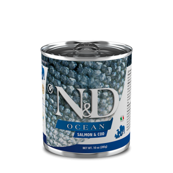 Farmina N&D Ocean Blik Zalm & Kabeljauw