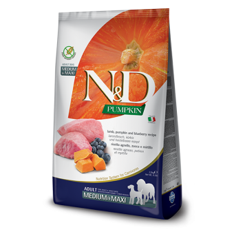 Farmina N&D Pumpkin Lam & Bosbes