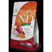 Farmina N&D Pumpkin Kwartel & Granaatappel Kat