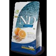 Farmina N&D Ocean Haring & Sinaasappel Kat