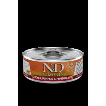 Farmina N&D Pumpkin Blik Kip & Granaatap.Kat