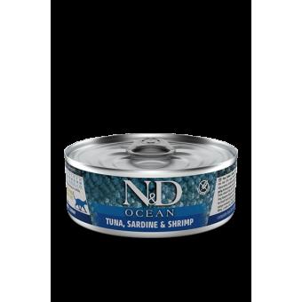 Farmina N&D Ocean Blik Tonijn & Sardines Kat