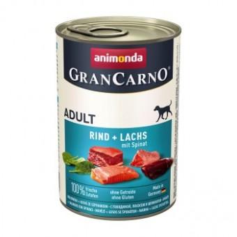 Grancarno Rund, Zalm & spinazie