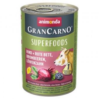Grancarno Superfoods Rundvlees, Bieten, Braambessen & Paardenbloem