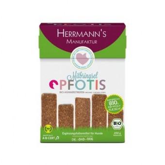 Herrmanns Bio Pfotis Snacks Kip strips