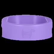 Hownd Hero Bowl antibacteriële eet- en drinkbak Lavender Blush