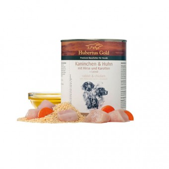 Hubertus Gold Konijn, Kip & Volkorenrijst