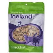 Icelandpet Cat Treat Witvis met haring