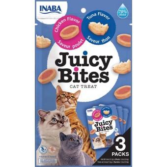 Inaba Kat Juicy Bites Tonijn met Kip