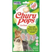 Inaba Kat Churu Pops Tonijn en Kip