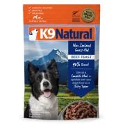 K9 Natural gevriesdroogd rundvlees