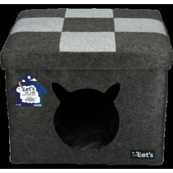 Let's Sleep Pet Cube Kat