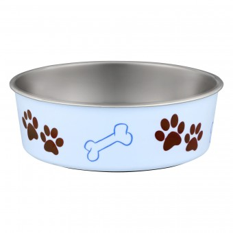 Loving Pets Bella Bowl Murano Blue