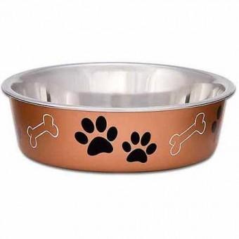 Loving Pets Bella Bowl Copper
