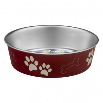 Loving Pets Bella Bowl Merlot