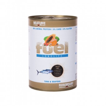 MeatLove FUEL Tinned Long Life (tonijn & zeevruchten)