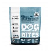Nature's Food Dog Bites Kip & Rund Munten
