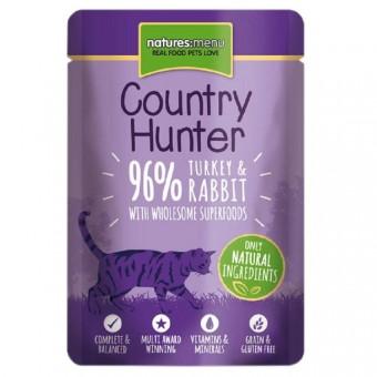 Natures Menu Cat Country Hunter Pouch Kalkoen & Konijn
