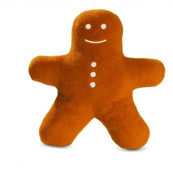 Planet Dog Squeaky gingerbread buddy