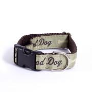 Poochie-Pets Good Dog groen halsband